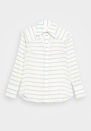 Button-down blouse - sky blue