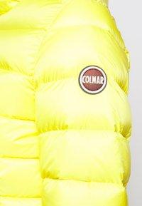 Colmar Originals - LADIES JACKET - Chaqueta de plumas - pineapple/dark steel - 5