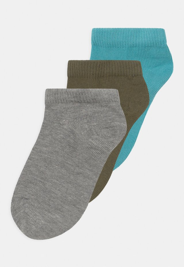 NMMVILUM FOOTIE 3 PACK - Socks - aqua
