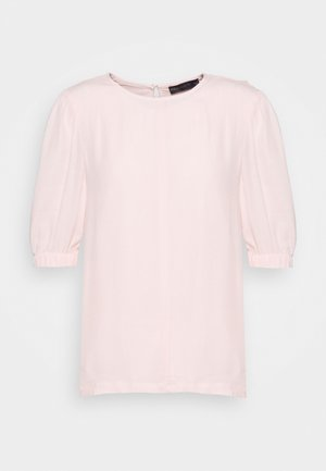 PLAIN PUFF SLEEVE - T-shirts basic - light pink