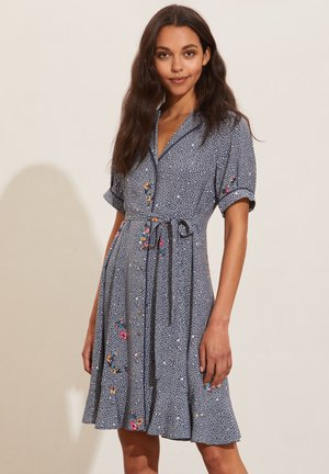 JENNA - Shirt dress - pigeon blue