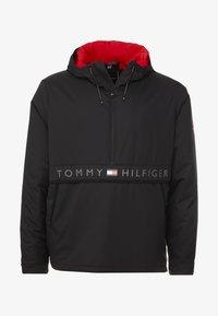 Tommy Hilfiger - STRETCH ANORAK - Light jacket - black - 4