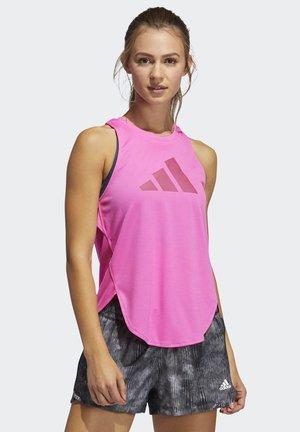 BADGE OF SPORT - T-shirt med print - pink