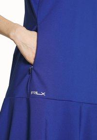 Polo Ralph Lauren Golf - DRESS SLEEVELESS CASUAL - Sportovní šaty - royal navy - 5