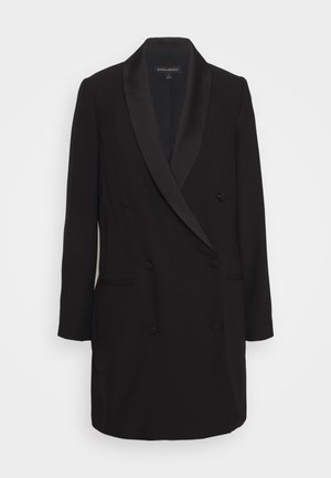BLAZER DRESS - Shirt dress - black