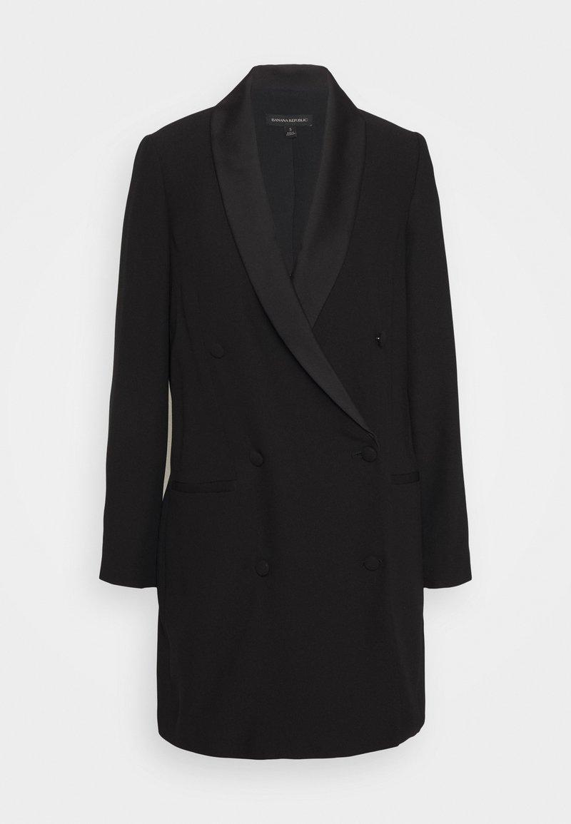 Banana Republic - BLAZER DRESS - Skjortekjole - black