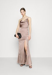 Nly by Nelly - PUT ON A SHOW STRAP GOWN - Galajurk - nougat - 1