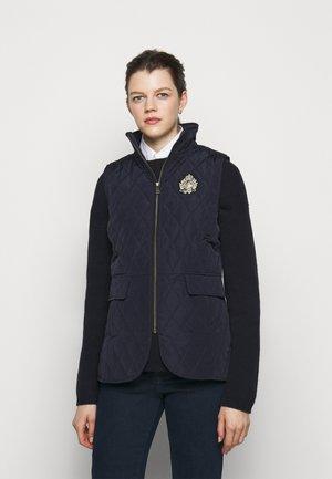 VEST - Waistcoat - dark navy