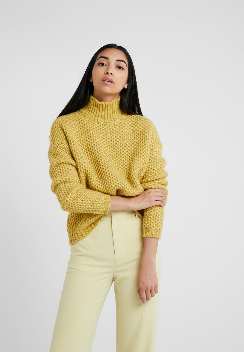 HUGO - SUZANNY - Svetr - bright yellow