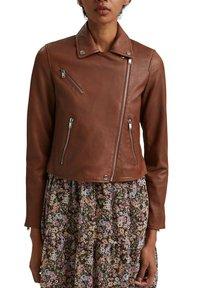 edc by Esprit - Leather jacket - caramel - 3