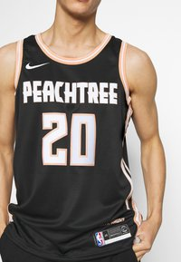 Nike Performance - NBA CITY EDITION ATLANTA HAWKS JOHN COLLINS SWINGMAN - Club wear - black - 5