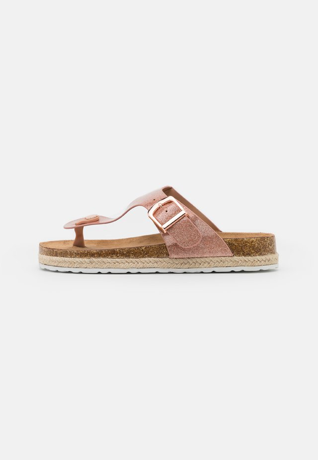 FLEETWOOD TPOST - Teensandalen - rose gold
