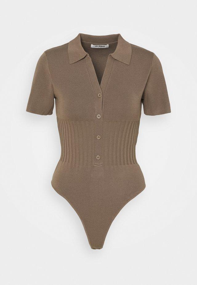 SAUNDERS - Poloskjorter - mocha