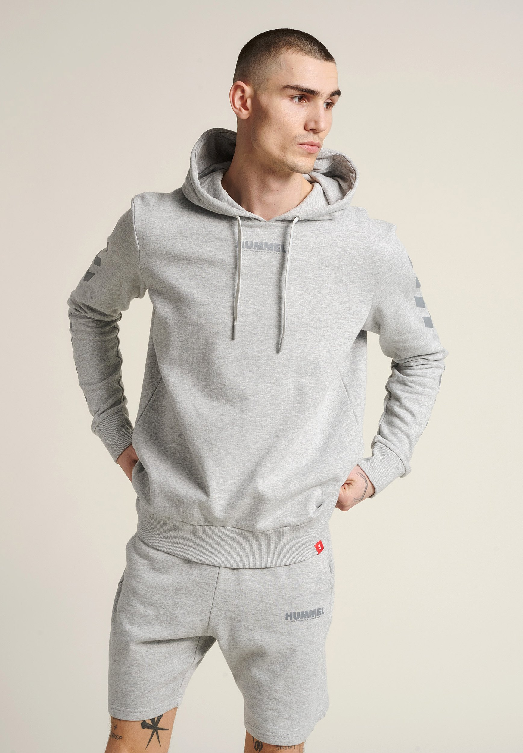 Homme HMLLEGACY HOODIE - Sweat à capuche