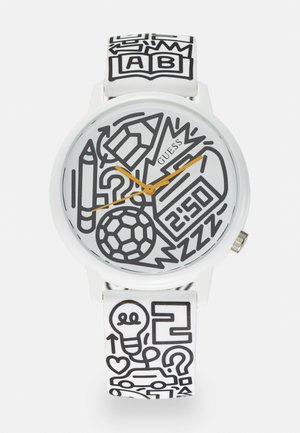 Watch - white/black