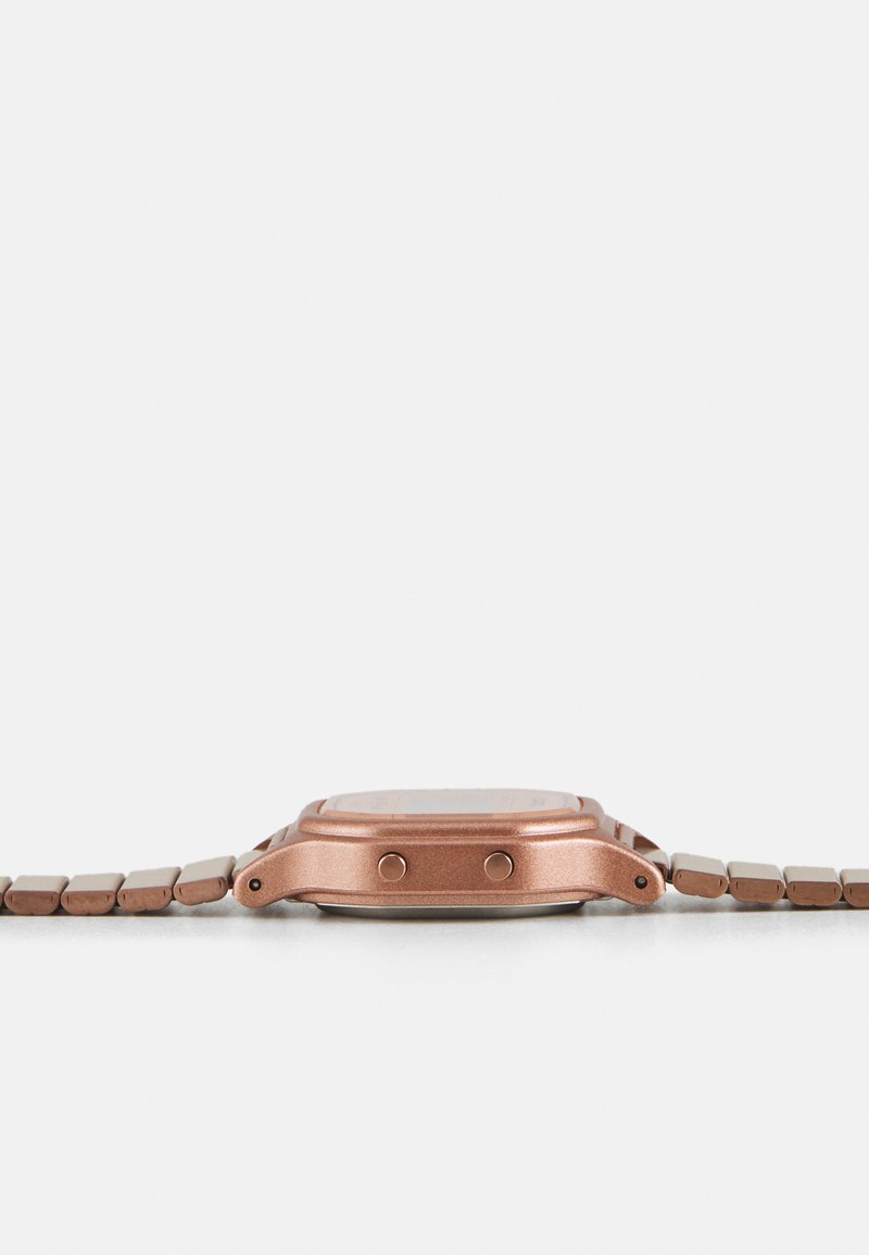 Casio - Digital watch - rosegold-coloured
