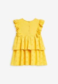 Next - Day dress - yellow - 2