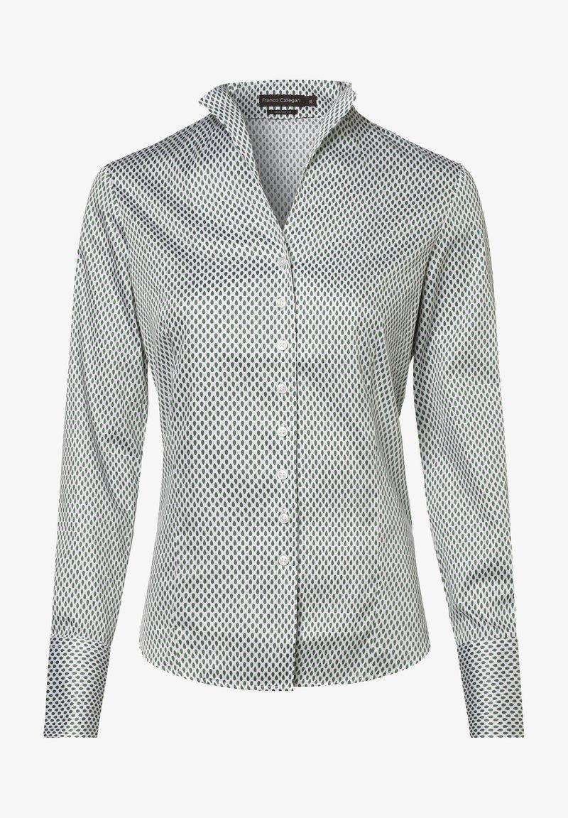 Franco Callegari - Shirt - weiß grün