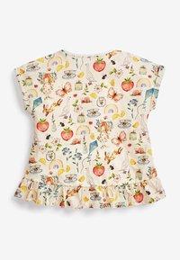 Next - Print T-shirt - yellow - 4
