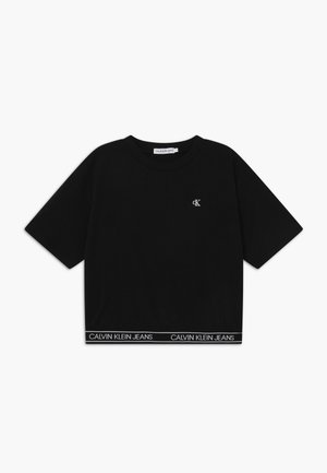 LOGO WAISTBAND - Basic T-shirt - black