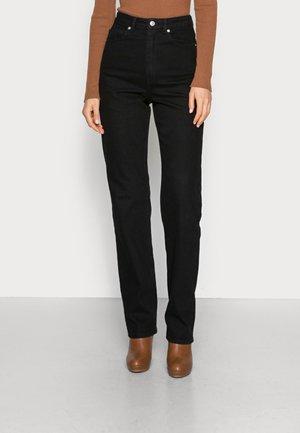 TATJANA - Straight leg jeans - black