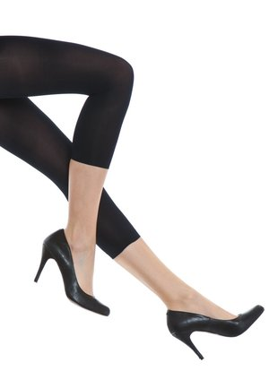 FALKE PURE MATT 50 DENIER LEGGINGS HALB-BLICKDICHT MATT - Leggings - Stockings - marine