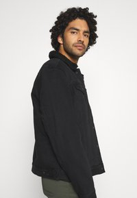 AllSaints - ALDER JACKET - Denim jacket - black - 3
