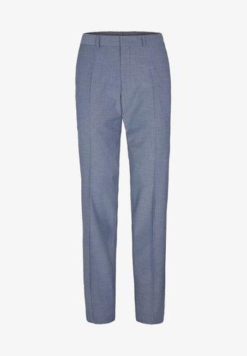 Suit trousers - blue melange