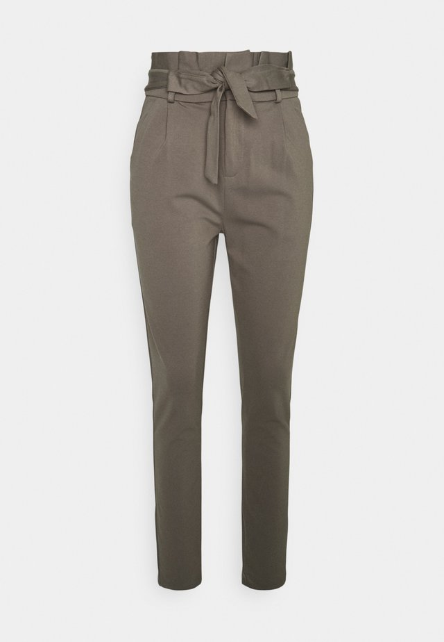 VMEVA PAPERBAG PANT - Trousers - bungee cord