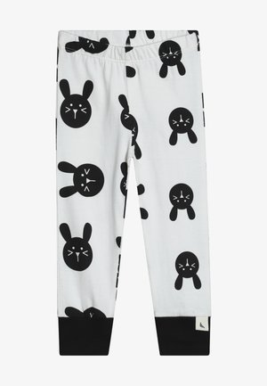 BUNNY - Tracksuit bottoms - white