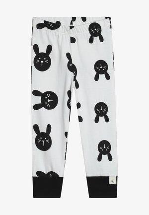 BUNNY - Pantalones deportivos - white