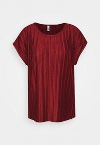 Soyaconcept - SC-KIRIT 1 - Print T-shirt - metallic red - 4