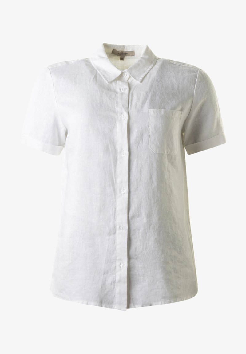 Clarina - Button-down blouse - weiss