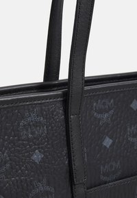MCM - TONI VISETOS SHOPPER MEDIUM - Tote bag - black - 4