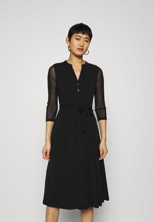 DRESS - Vestido largo - black
