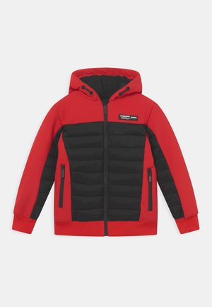 TEVISI SET - Winter jacket - flame red
