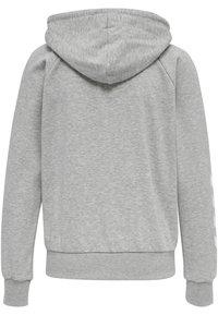 Hummel - Hoodie - grey melange - 7