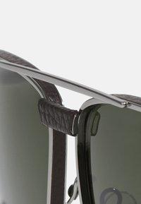 Salvatore Ferragamo - UNISEX - Sunglasses - gunmetal/brown - 6