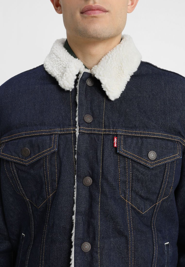 TYPE 3 SHERPA TRUCKER Jeansjakke rockridge