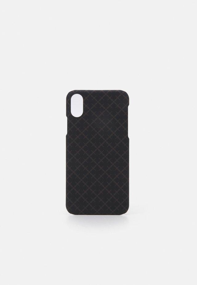 IPHONE X - Mobiltasker - dark chokolate