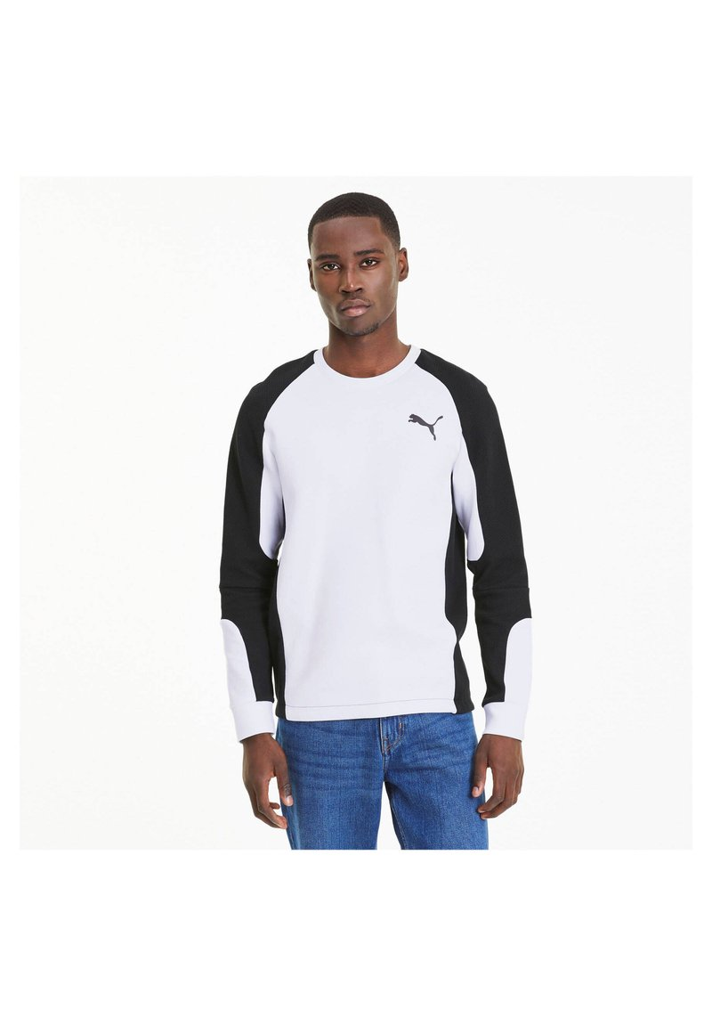 Puma - EVOSTRIPE - Sweatshirt - white