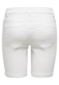 ONLY - Short en jean - white - 5