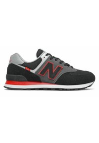 New Balance - 574 - Baskets basses - black/red - 2