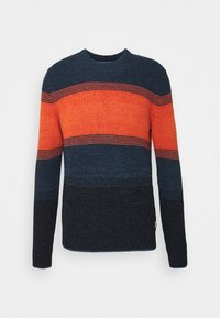 JJMELANGE CREW NECK  - Jumper - burnt ochre