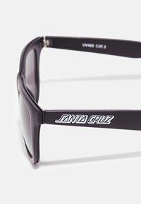 Santa Cruz - CLASSIC STRIP SUNGLASSES UNISEX - Sunglasses - black - 2
