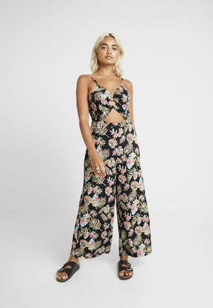 Jumpsuit - black/pink/blue