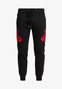 Brave Soul - AVIOR - Pantalones deportivos - black - 3