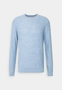 Selected Homme - SLHBUDDY CREW NECK - Jumper - skyway - 4
