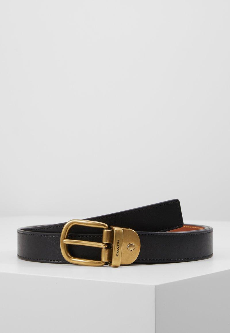 Coach - Cintura - black/saddle