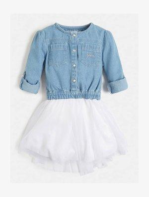 Denim dress - mehrfarbig, grundton blau